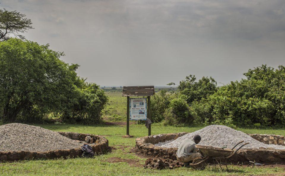 Ivory burning Nairobi