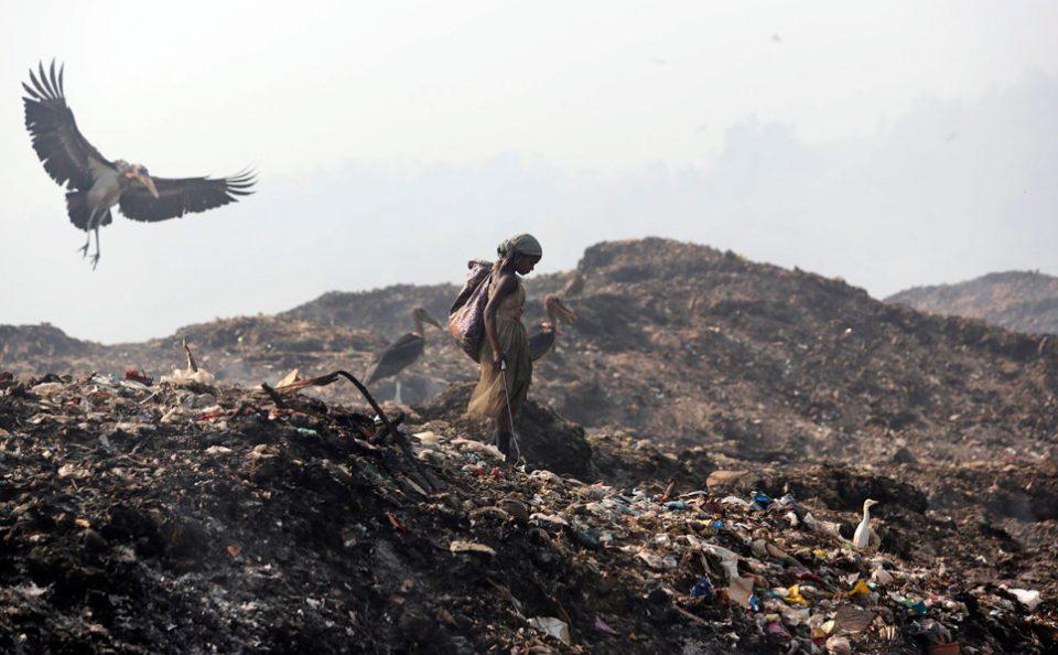 India landfill
